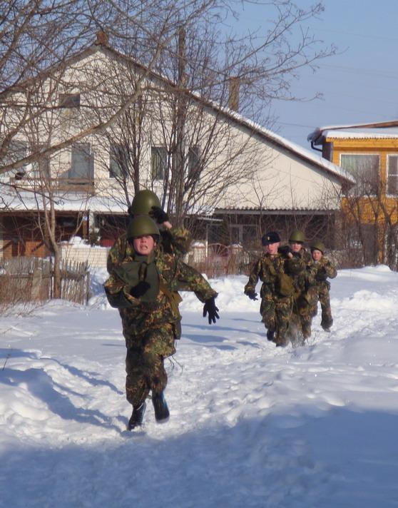 Алексеевцы на финише