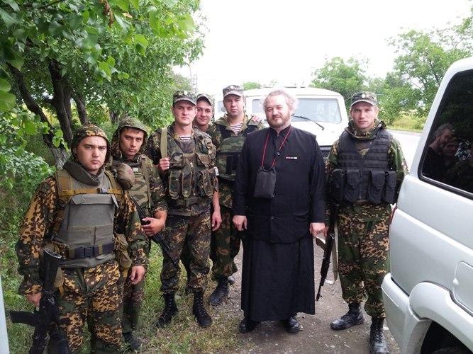 Протоиерей Димитрий Василенков на Северном Кавказе
