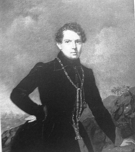 А.Н. Муравьев. Портрет работы П.З. Захарова. 1838 г.