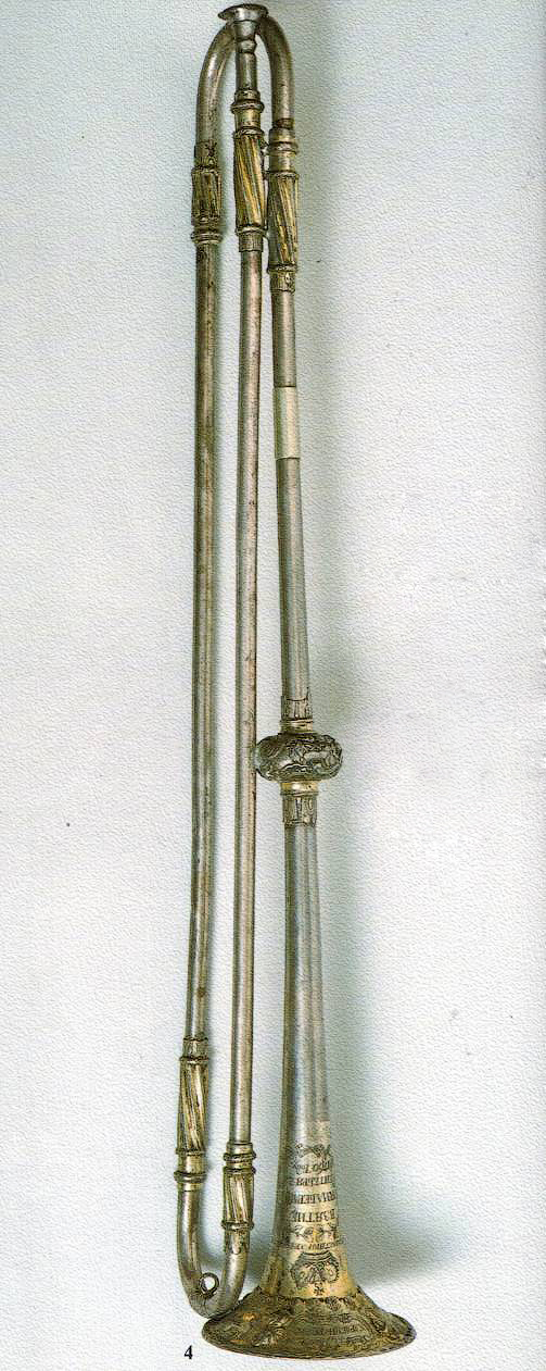 Серебряная труба за взятие Берлина