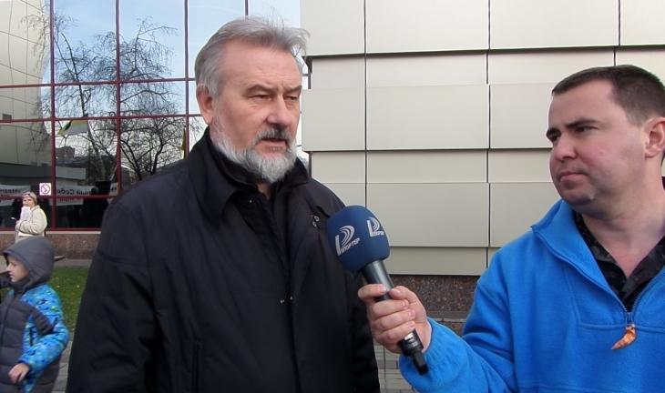 Степанов в Киеве