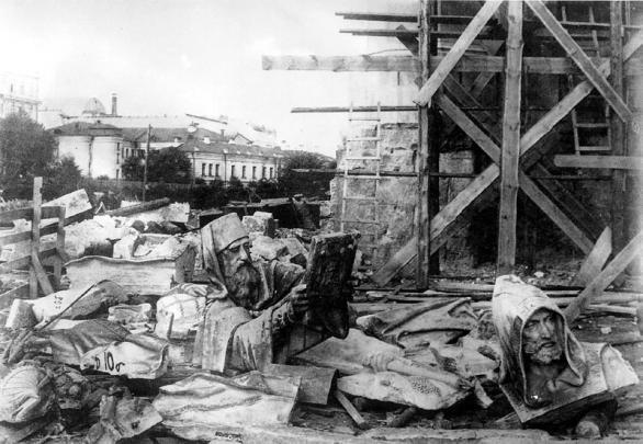 Храм Христа Спасителя, 1931 год