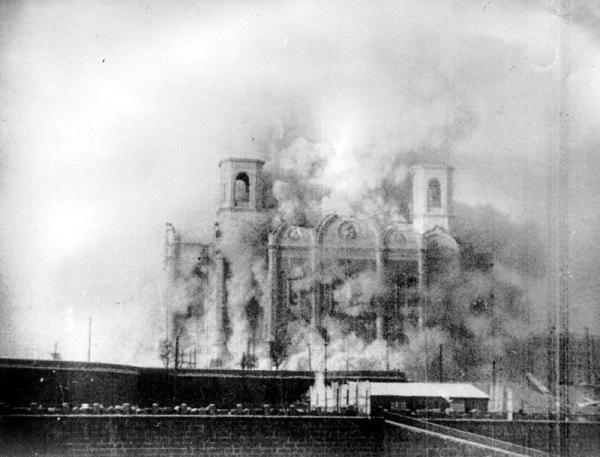 Взрыв Храма Христа Спасителя, 1931 год
