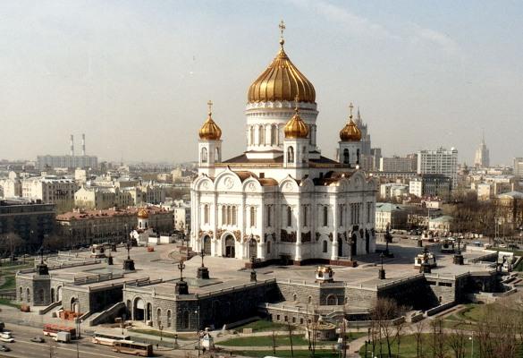 Храм Христа Спасителя (современный вид)