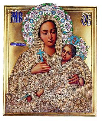 Чудотворный список Козельщанской иконы Божьей Матери