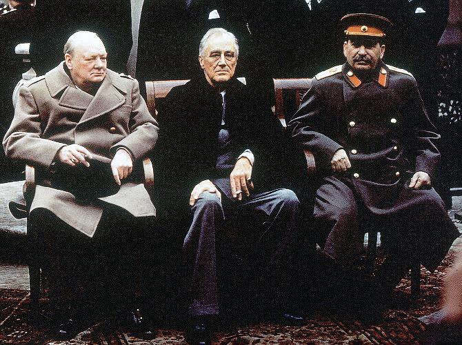 «Сталин доминировал на конференции»