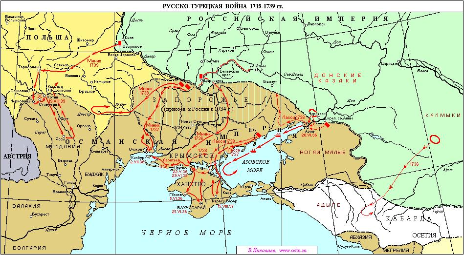 карта р-т войны