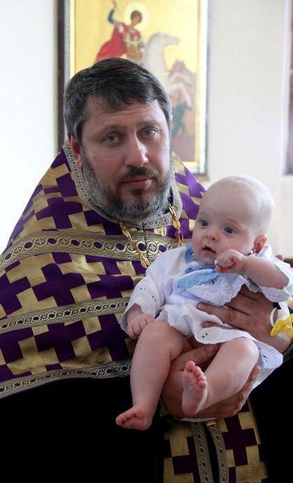 В Покровском кафедральном соборе состоялось крещение *первенца* епархиальной программы противоабортного консультирования