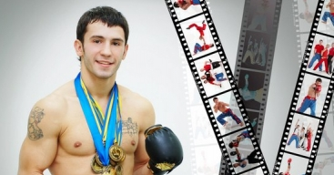 В Донецке похоронили чемпиона мира по кикбоксингу чтеца Николая Леонова, принявшего мученическую кончину