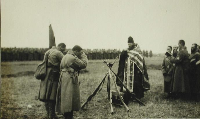 Священник, Первая мировая война