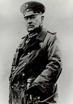 Пауль фон Гинденбург