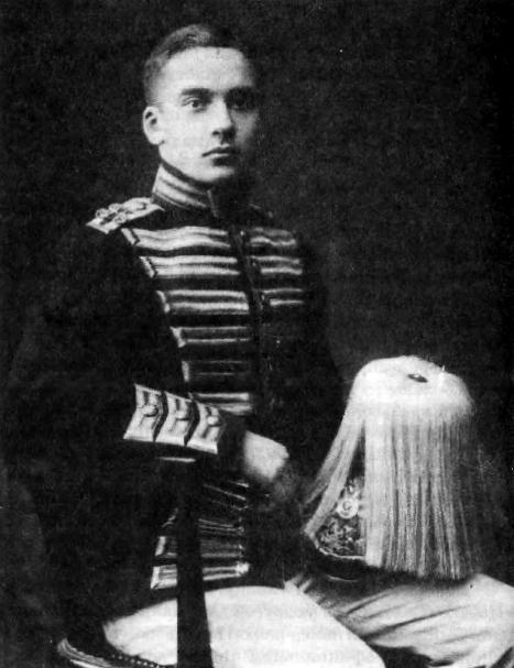 Д.Е.Боткин в парадной форме камер-пажа, 1913 год