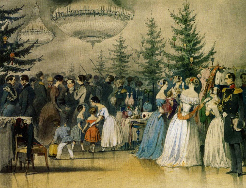 Рождественская елка в царствование Императора Николая I