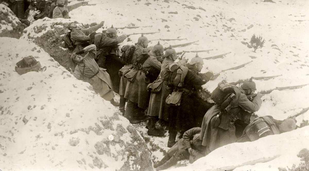 Немцы на Восточном фронте, 1914 год.