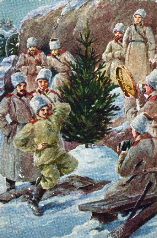 Рождество на позициях
