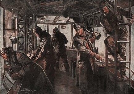 Команда немецкого дирижабля