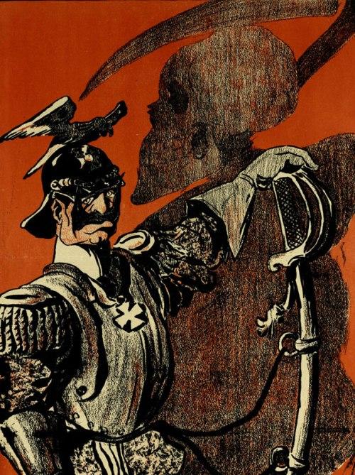Карикатура на Вильгельма II