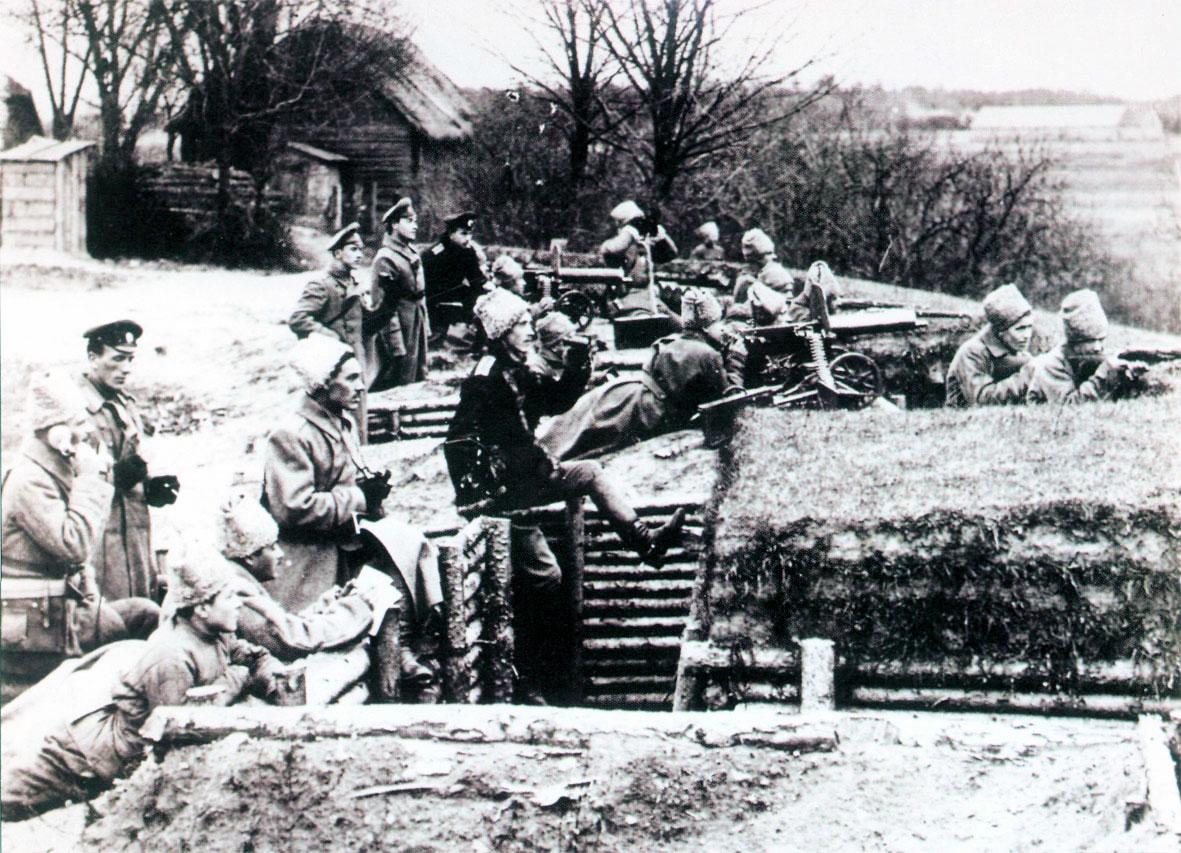Русский окоп, Первая мировая война