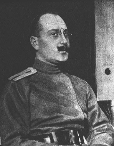 Штабс-капитан П.В.Гурдов
