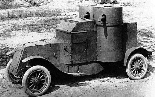 Русский броневик, Первая мировая война