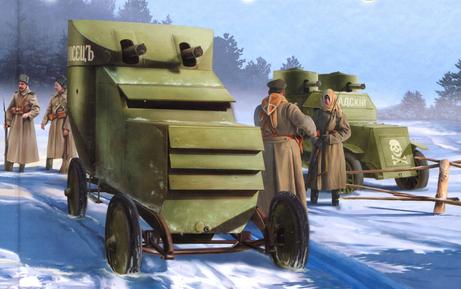 Русские броневики, Первая мировая война