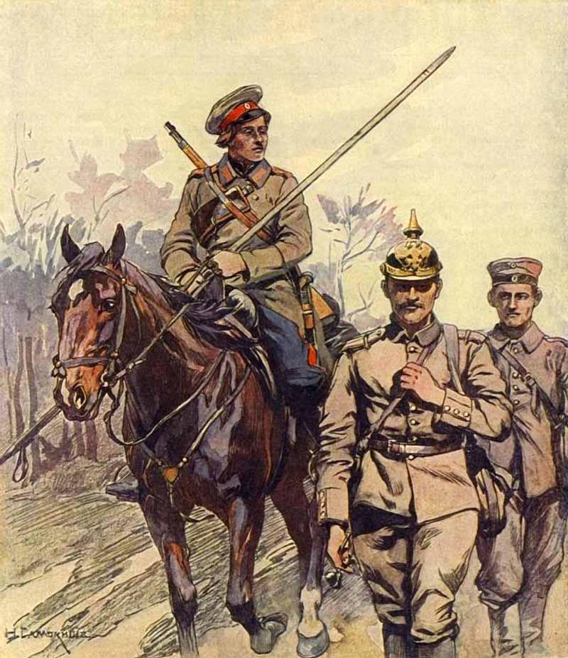 Казак, Первая мировая война