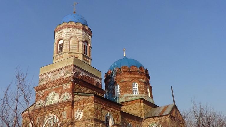 Успенская церковь с. Маливановка