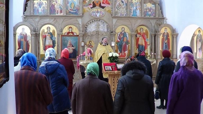 После молебна в церкви св. равноап. кн. Владимира