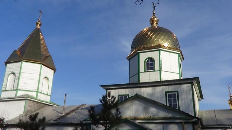 Успенская старообрядческая церковь пос. Городище Луганской области