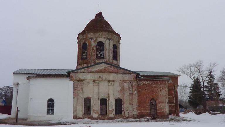 Церковь прав. Лазаря в с. Хрещаты Воронежской области