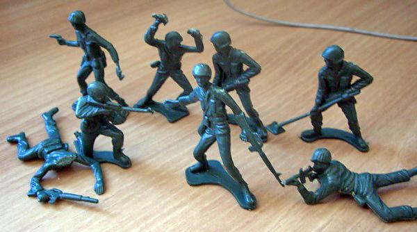 Китайские солдатики