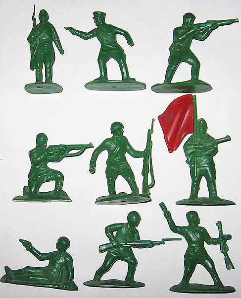 Набор *Солдаты в бою*