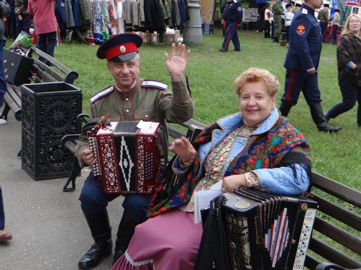 пятый международный фестиваль :Казачья станица Москва: