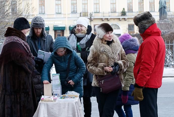 Молитвенное стояние *Православные против абортов*