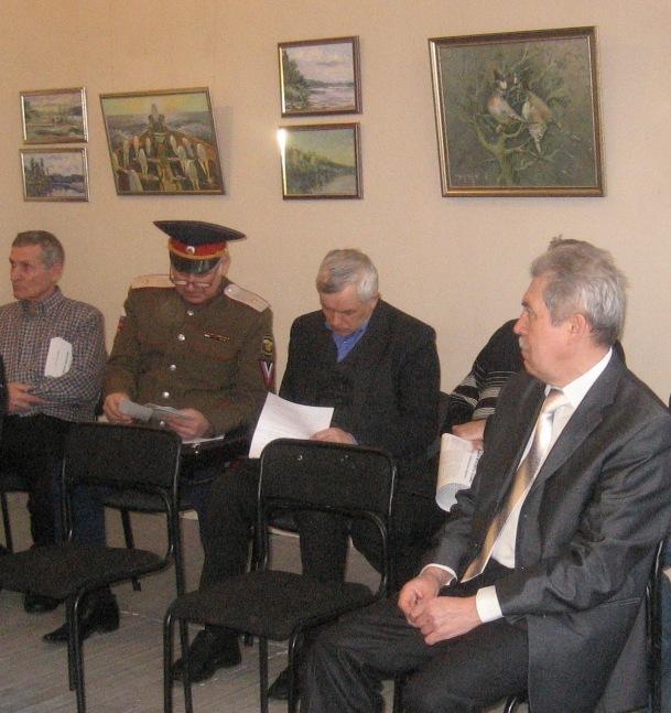 Заседание нижегородского отделения «Русского Собрания»