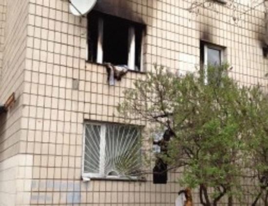 Организатору *Бессмертного батальона* в Киеве сожгли квартиру