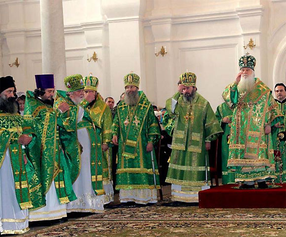 Прославление в лике святых игумении Арсении (Себряковой)