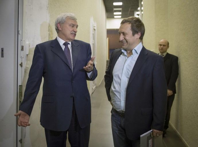 С губернатором Георгием Сергеевичем