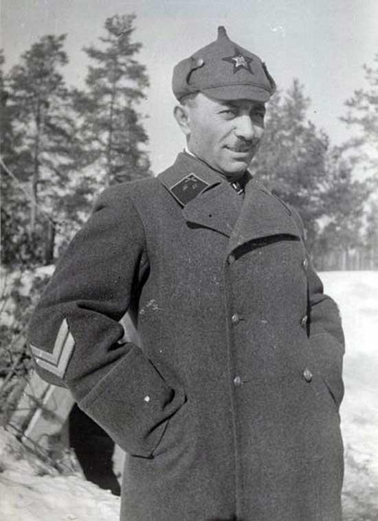 Парсегов во время Советско-финской войны 1939-1940 гг.