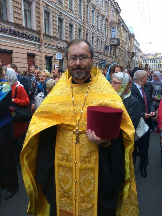 Священник Роман Зеленский