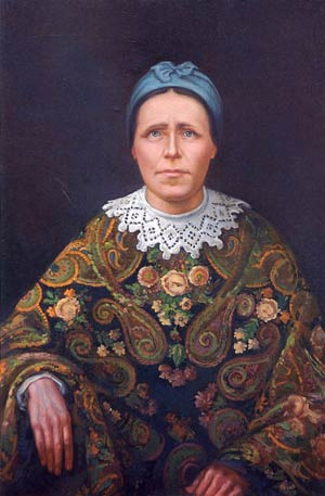 Феодора Власьевна Сергиева