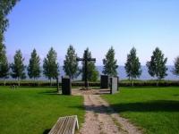 Роскошное немецкое кладбище в старинной русской деревне